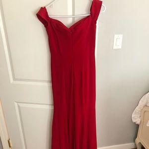 Red prom dress!